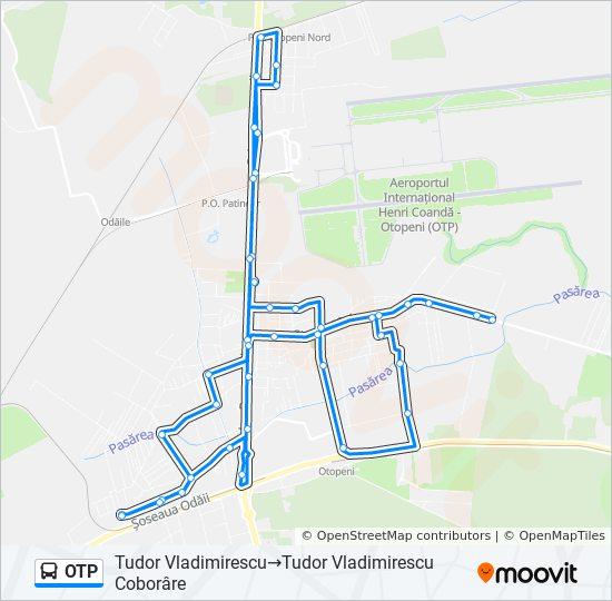 Otp Ruta Orare Stații și Hărți Tudor Vladimirescu Tudor