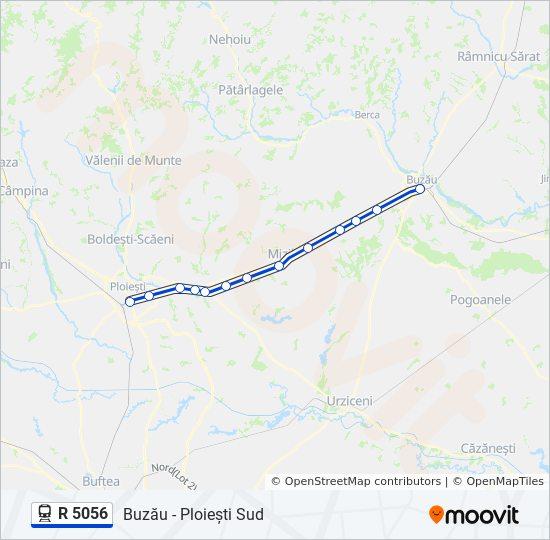 R 5056 Ruta Orare Stații și Hărți Buzău Ploiești Sud