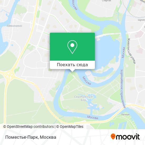 Карта Поместье-Парк