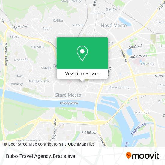 Bubo-Travel Agency mapa