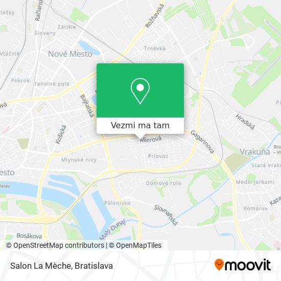 Salon La Mèche mapa