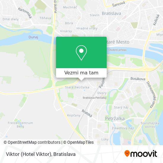 Viktor (Hotel Viktor) mapa