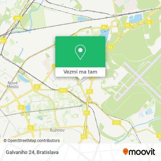 Galvaniho 24 mapa