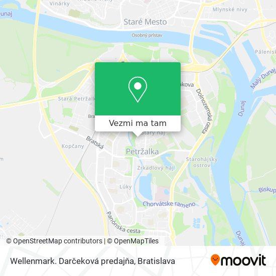 Wellenmark. Darčeková predajňa mapa