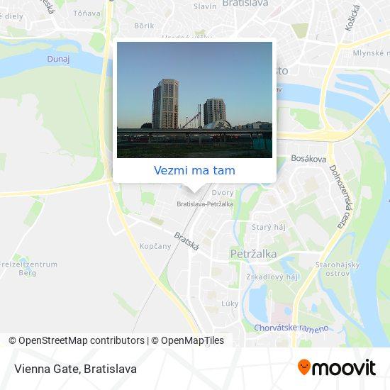 Vienna Gate mapa
