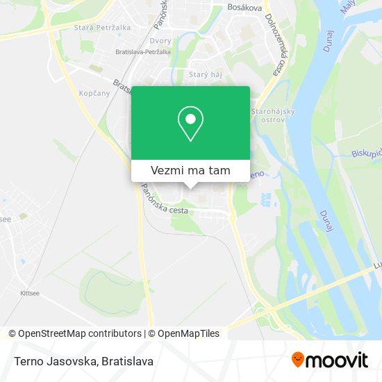 Terno Jasovska mapa