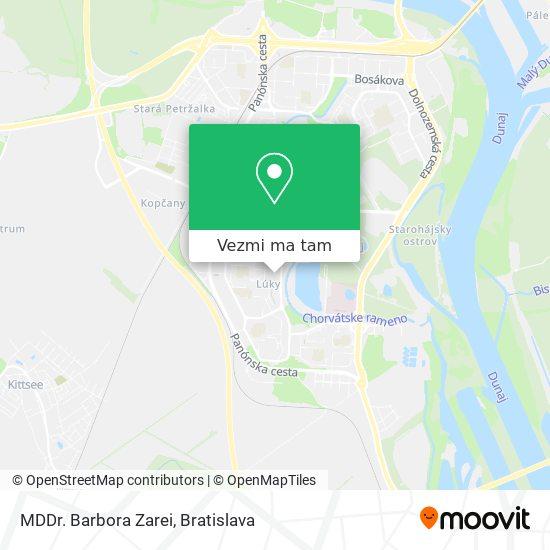 MDDr. Barbora Zarei mapa