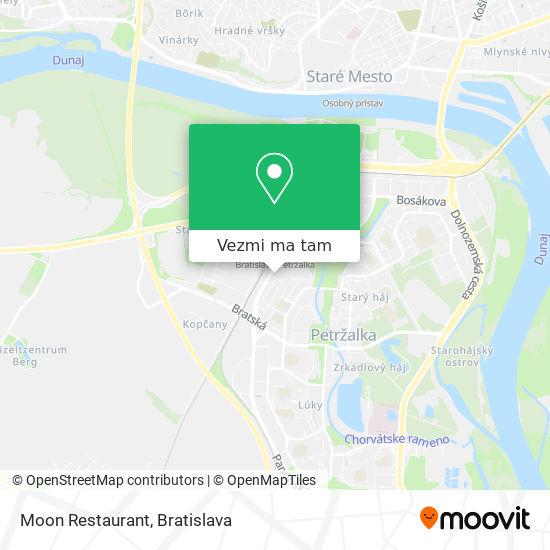 Moon Restaurant mapa