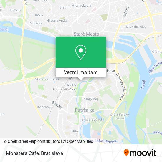 Monsters Cafe mapa