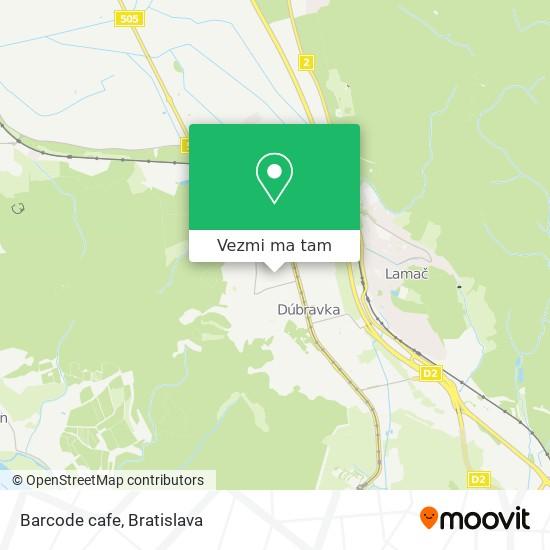 Barcode cafe mapa