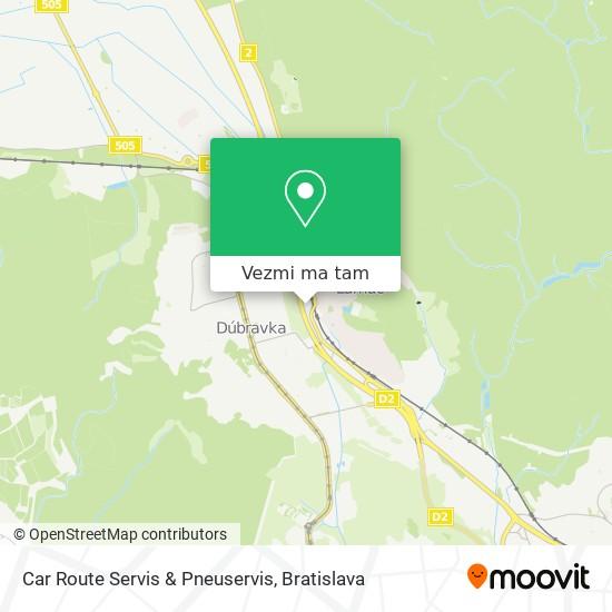 Car Route Servis & Pneuservis mapa