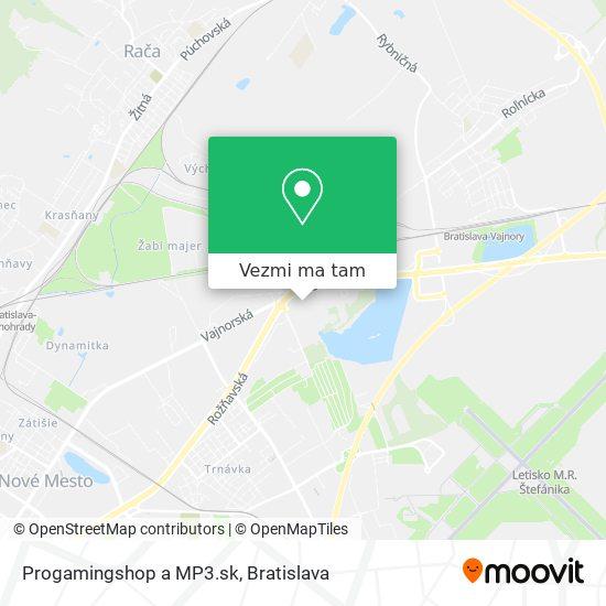 Progamingshop a MP3.sk mapa
