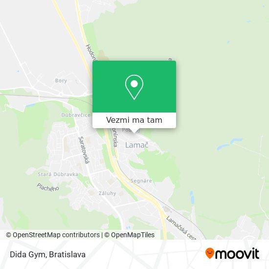 Dida Gym mapa