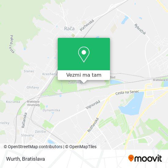 Wurth mapa