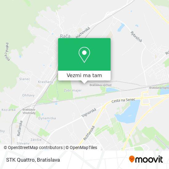 STK Quattro mapa