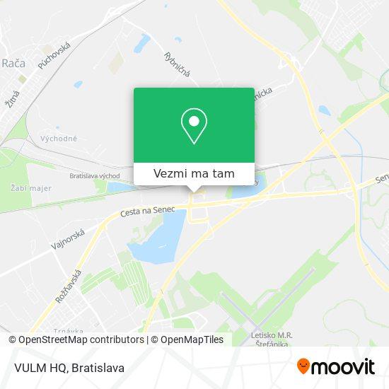 VULM HQ mapa