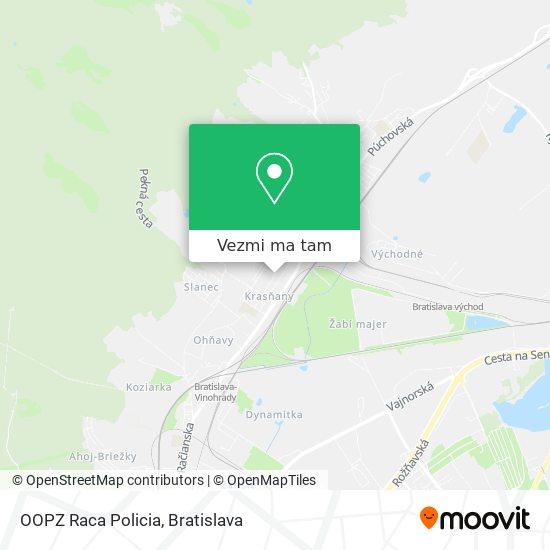OOPZ Raca Policia mapa
