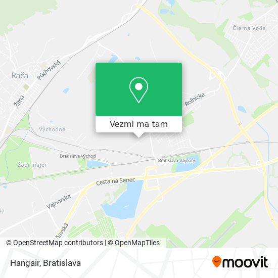 Hangair mapa