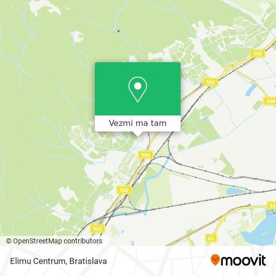 Elimu Centrum mapa