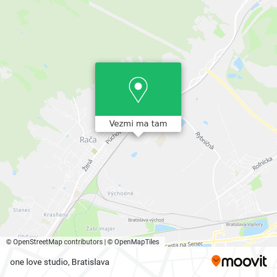 one love studio mapa