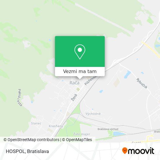 HOSPOL mapa