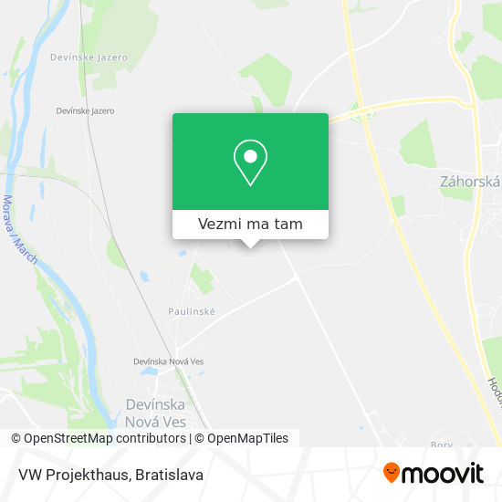 VW Projekthaus mapa