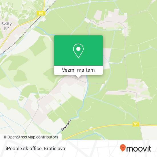 iPeople.sk office mapa