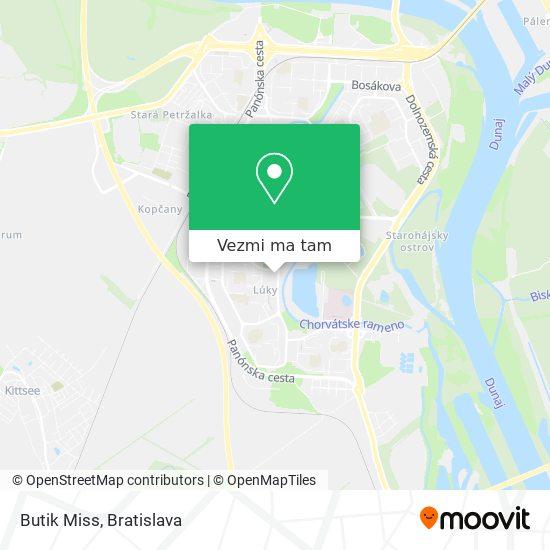 Butik Miss mapa