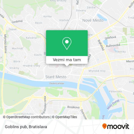 Goblins pub mapa