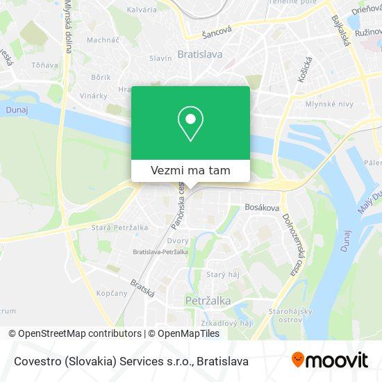 Covestro (Slovakia) Services s.r.o. mapa