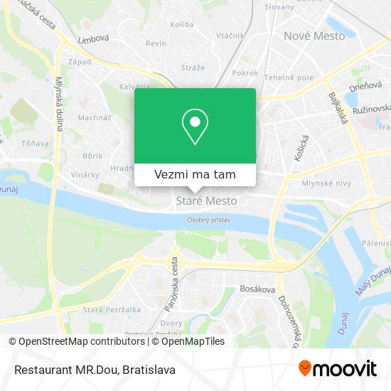 Restaurant MR.Dou mapa