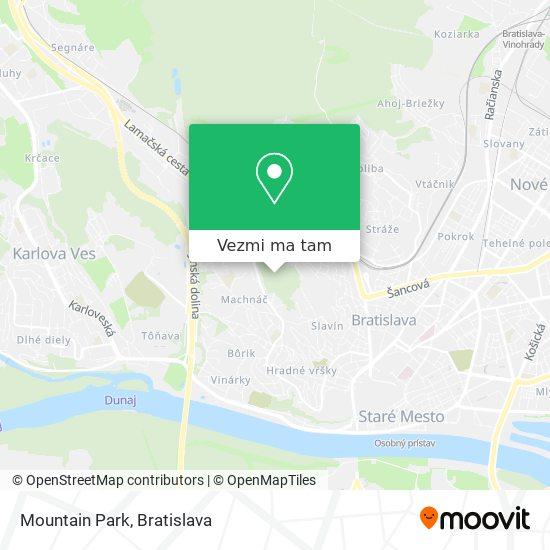 Mountain Park mapa