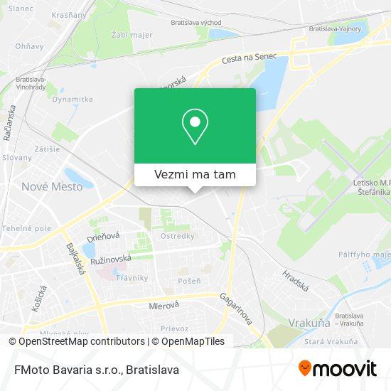 FMoto Bavaria s.r.o. mapa