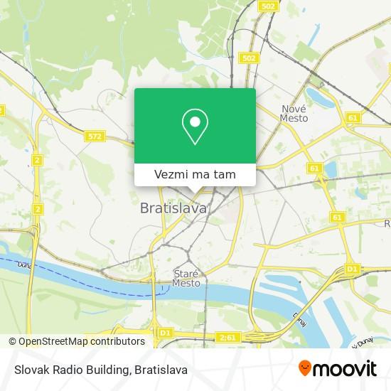 Slovak Radio Building mapa
