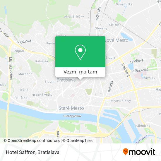 Hotel Saffron mapa