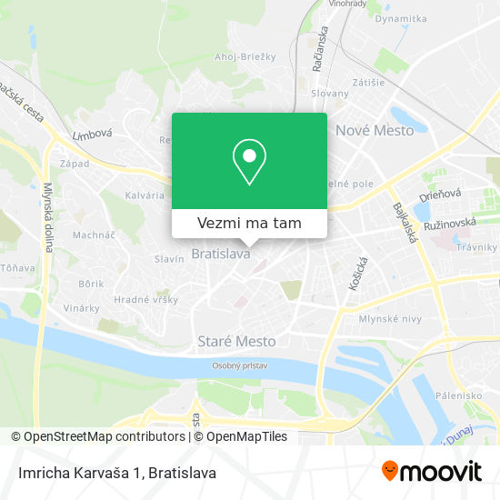 Imricha Karvaša 1 mapa