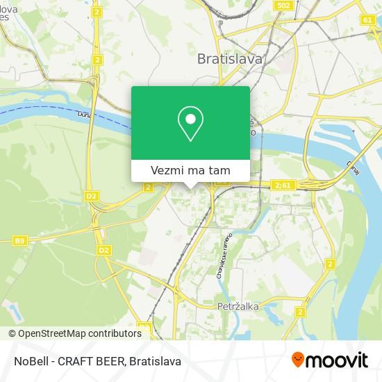 NoBell - CRAFT BEER mapa