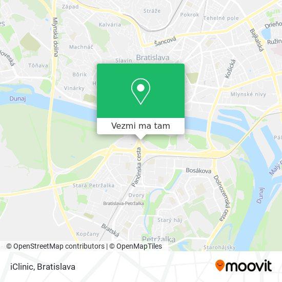 iClinic mapa
