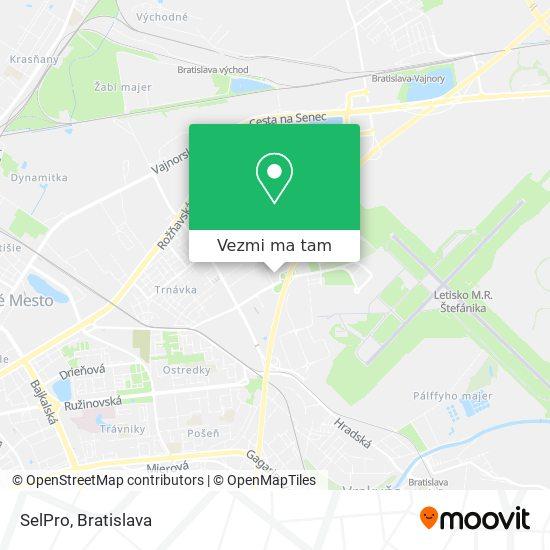 SelPro mapa