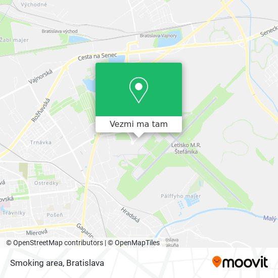 Smoking area mapa