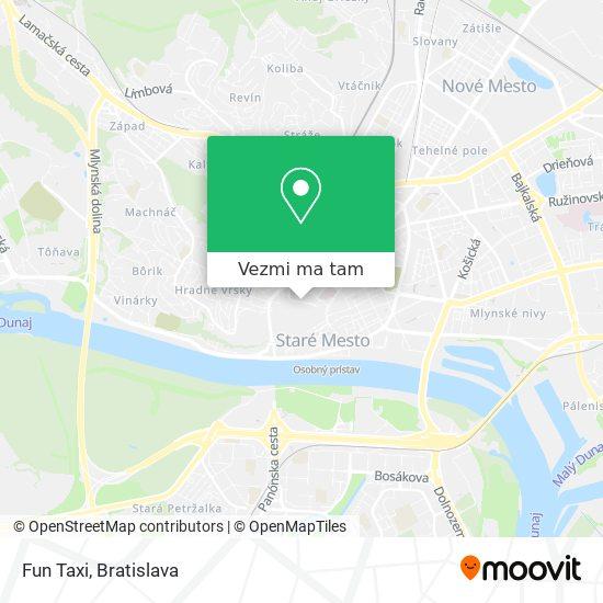 Fun Taxi mapa