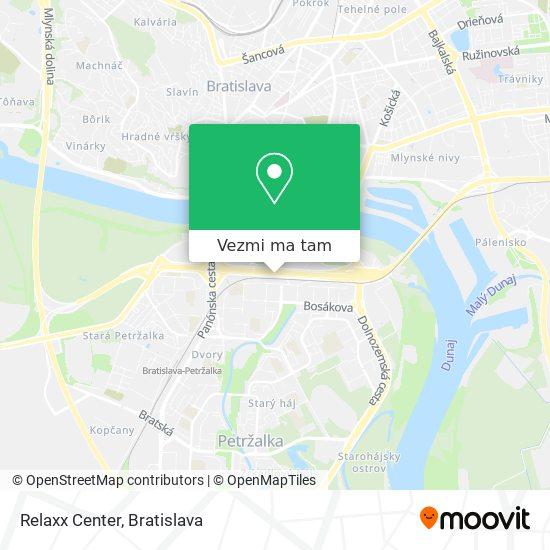 Relaxx Center mapa