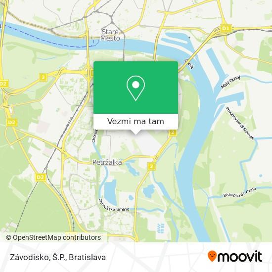 Závodisko, Š.P. mapa
