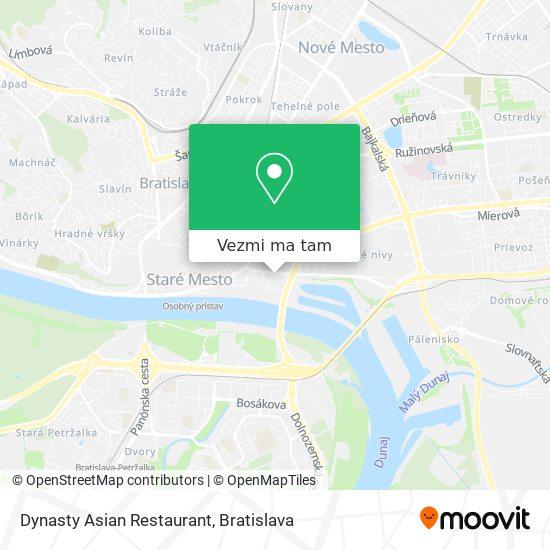 Dynasty Asian Restaurant mapa