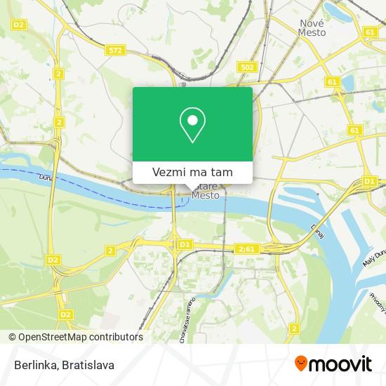 Berlinka mapa