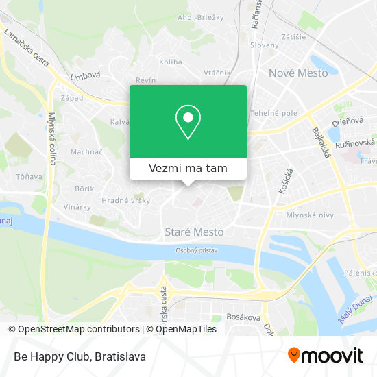 Be Happy Club mapa