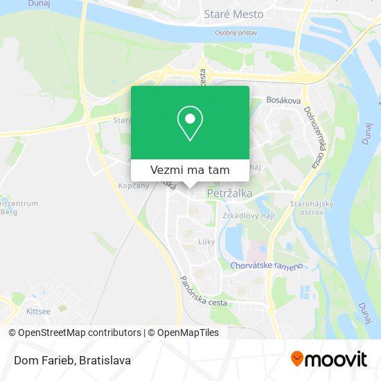 Farby Laky mapa