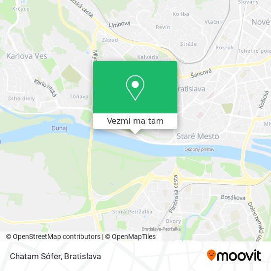 Chatam Sófer mapa