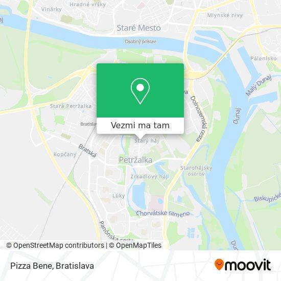 Pizza Bene mapa