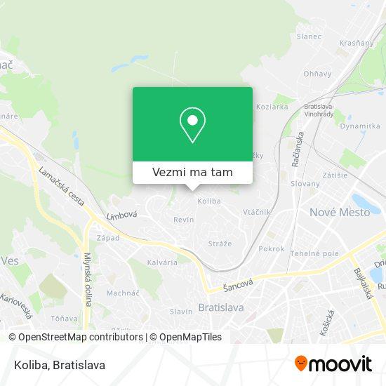 Koliba mapa